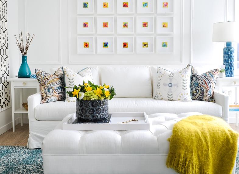 simply home decorating with color inspiration joy calm home