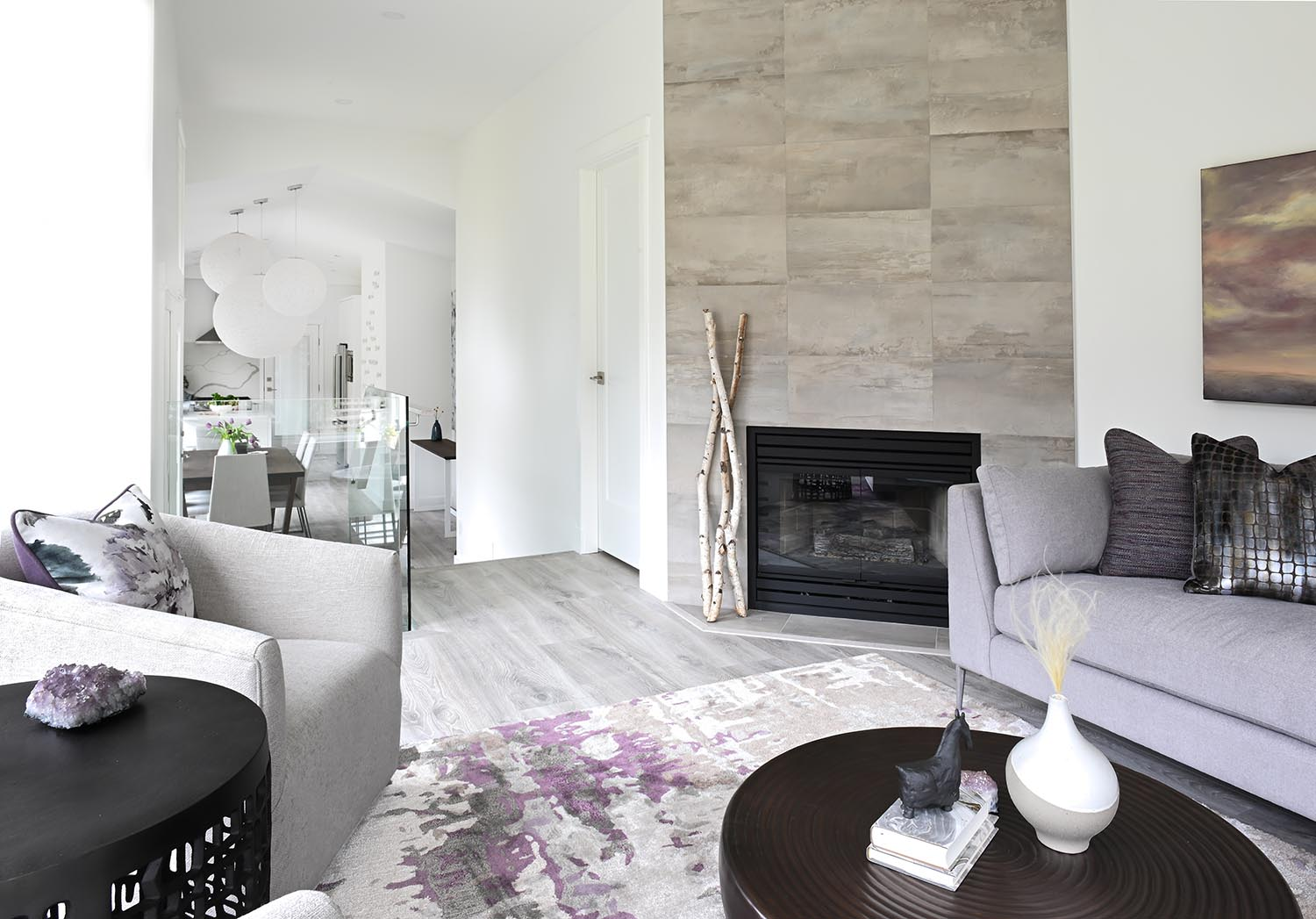 Lynn Valley Modern Home North Vancouver Simply Home Decorating Interior Design
