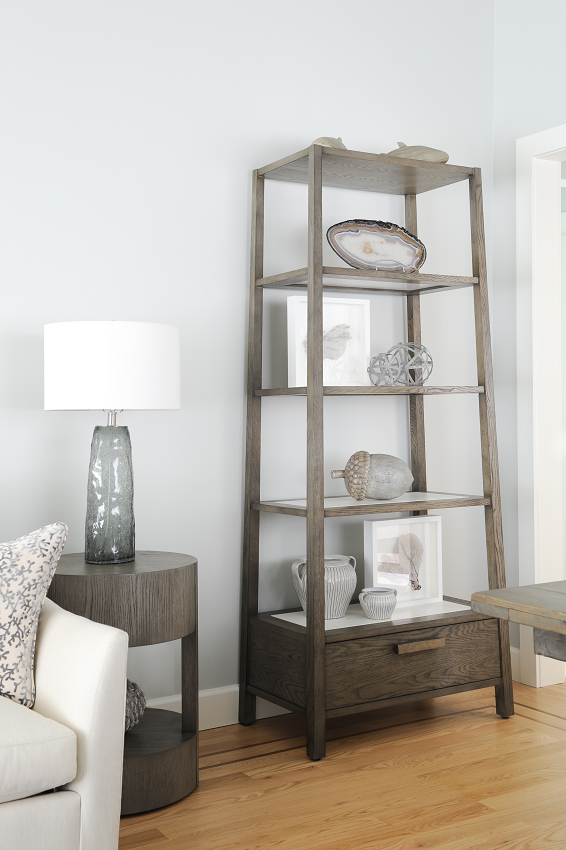 Simply-Home-Decorating_Boutique-Design-Studio_North-Vancouver-B.C._How-to-Style-Bookshelves-Like-a-Pro-in-5-Simple-Steps_Living-Room-Shelves_End-Table-with-Lamp
